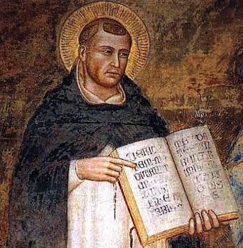 Fra Angelico - Thomas av Aquino