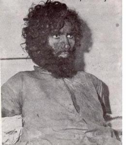 Juhayman al-Otaybi.i fångenskap efter attacken i Mecka