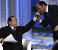 Bruno Vespa och Berlusconi