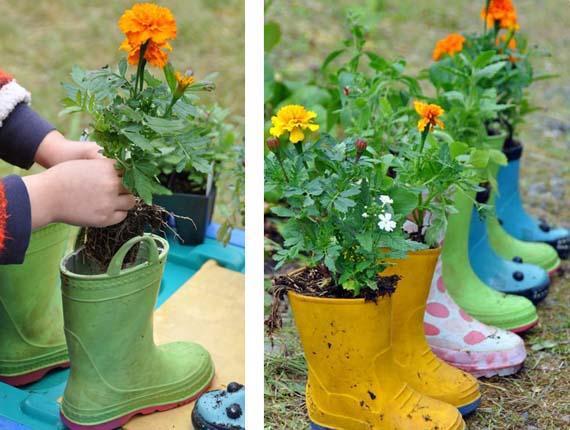 Garden decorating ideas on a budget - Easy DIY projects on Easy Diy Garden Decor id=71769