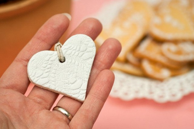 Valentines Day Craft For Kids Easy Polymer Clay Hearts