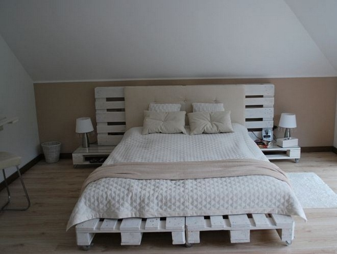 DIY pallet furniture ideas - 40 projects that you haven't seen on Pallet Bed Room  id=36204