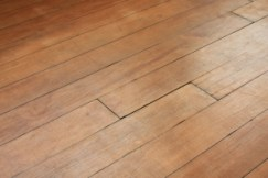 varnished wood floor
