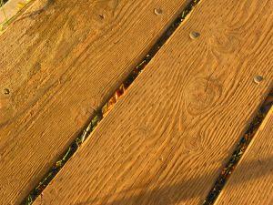 reclaimed floorboards