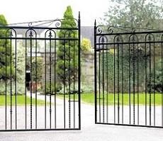 installing driveway gates
