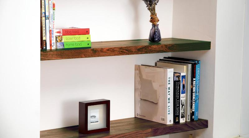 fitting shelves alcoves