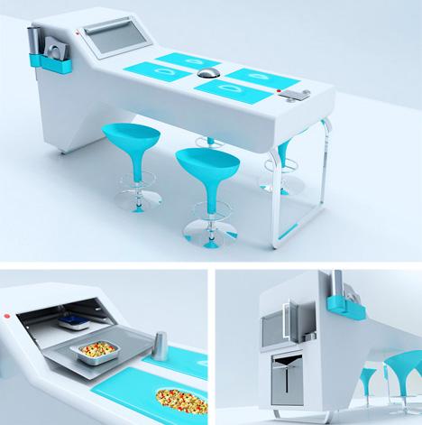 unusual kitchen furniture alight kitchen Cool Kitchen Designs