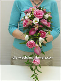 Make Your Own Wedding Bouquet From Wild Flowers