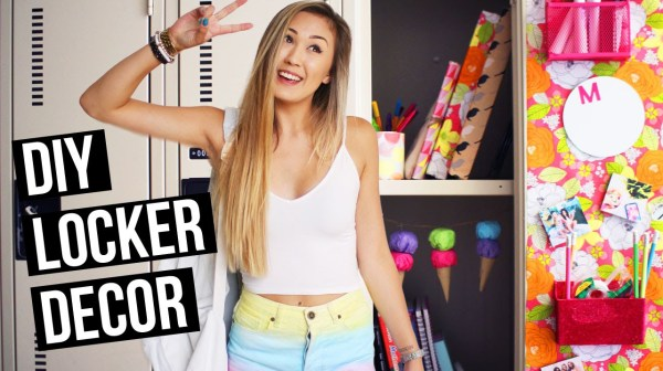 DIY Locker Decorations for Back to School 2015! | LaurDIY ...