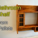 Shelves Out Of Pallets Easy Craft Ideas