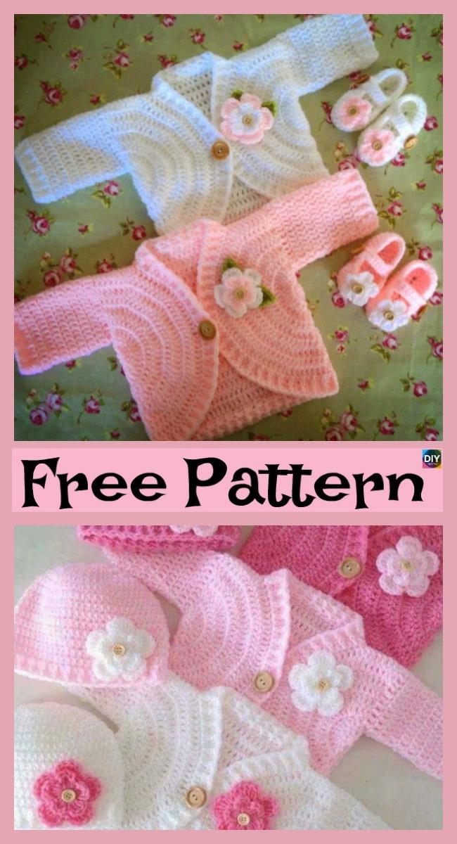 Crocodile Stitch Booties Free Pattern