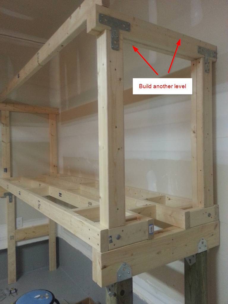 Diy Heavy Duty Garage Shelves Diyable Com