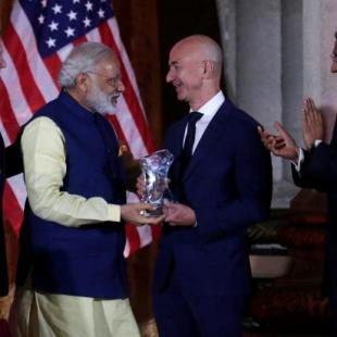 Amazon's Jeff Bezos announces additional $3B investment in India during PM Modi's visit