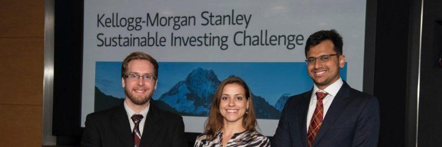 Team EduIndia wins Kellogg-Morgan Stanley Sustainable Investing Challenge