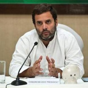 VP of India's Congress party Rahul Gandhi speaks at UC Berkeley