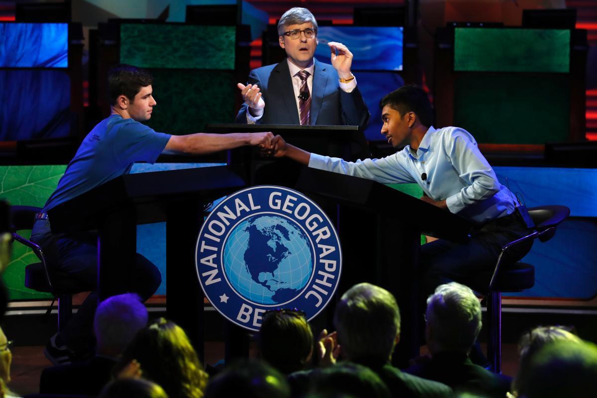 Texas 8th grader Indian American Pranay Varada wins National Geographic Bee