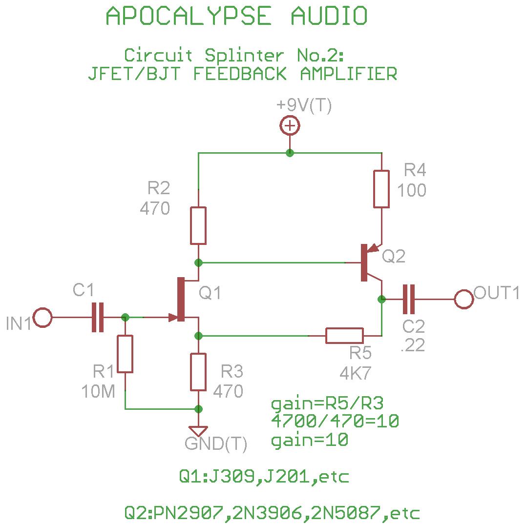 Microphone Circuits Audio Schematics Amplifier Circuitsaudio Circuit Diagram