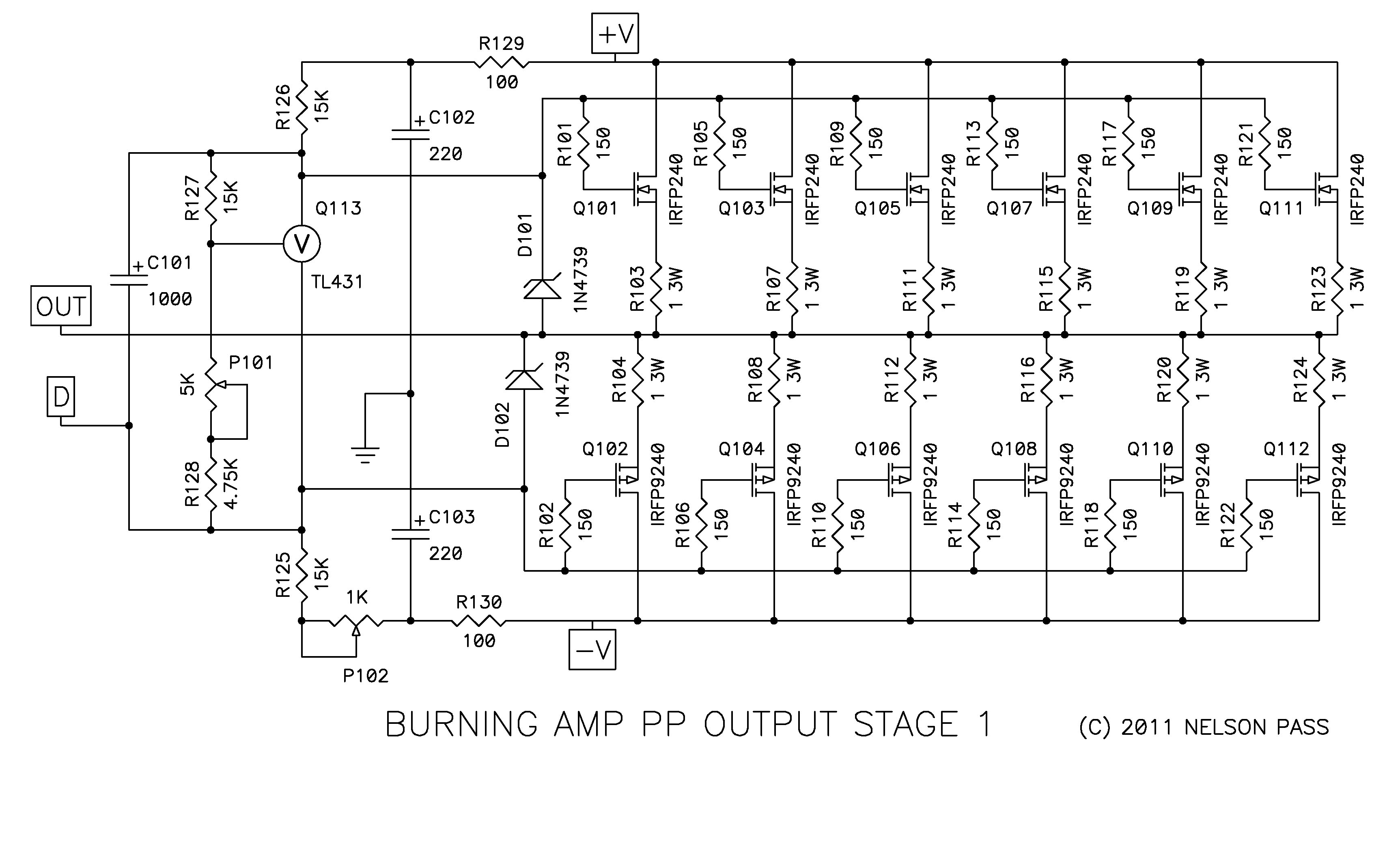 Burning Amplifier Ba 3