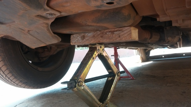 Right engine mount change on 2003 -2007 Accord