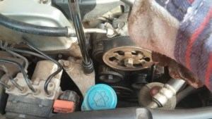 Right engine mount change on 2003 - 2007 Accord
