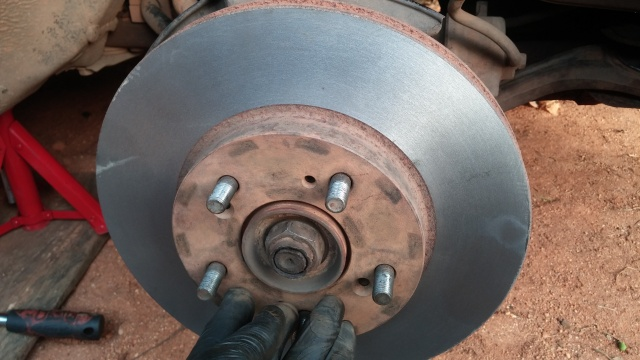 Rotor Resurfacing Near Me >> Replacement Resurfacing Of Brake Rotors On 2003 2007 Accord