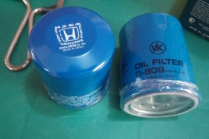 Honda oil filter versus Vic C-809