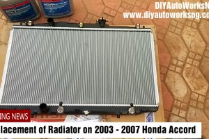 2003 Accord Radiator
