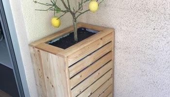 Fabriquer Une Jardiniere En Bois Diybois