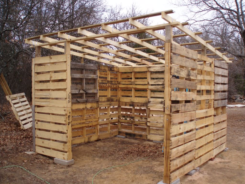Learn To Build A Pallet Shed Page 2 Of 2 DIY Bullseye
