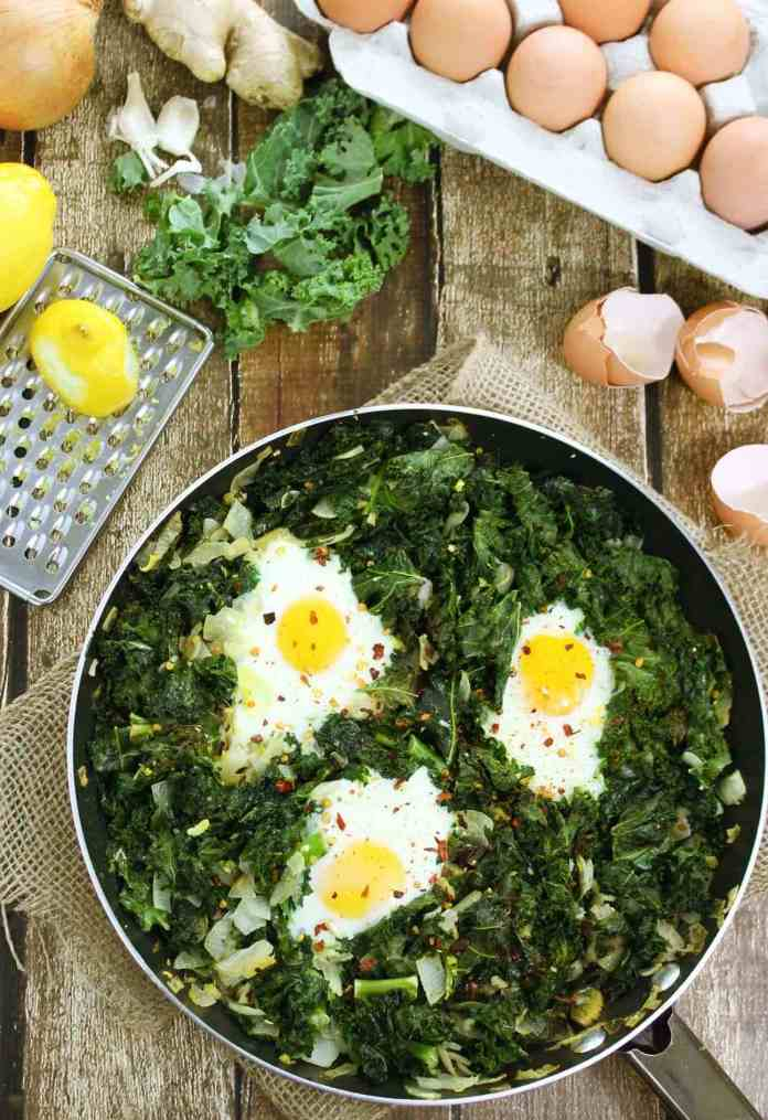 Thought you couldn't have greens with a keto meal?