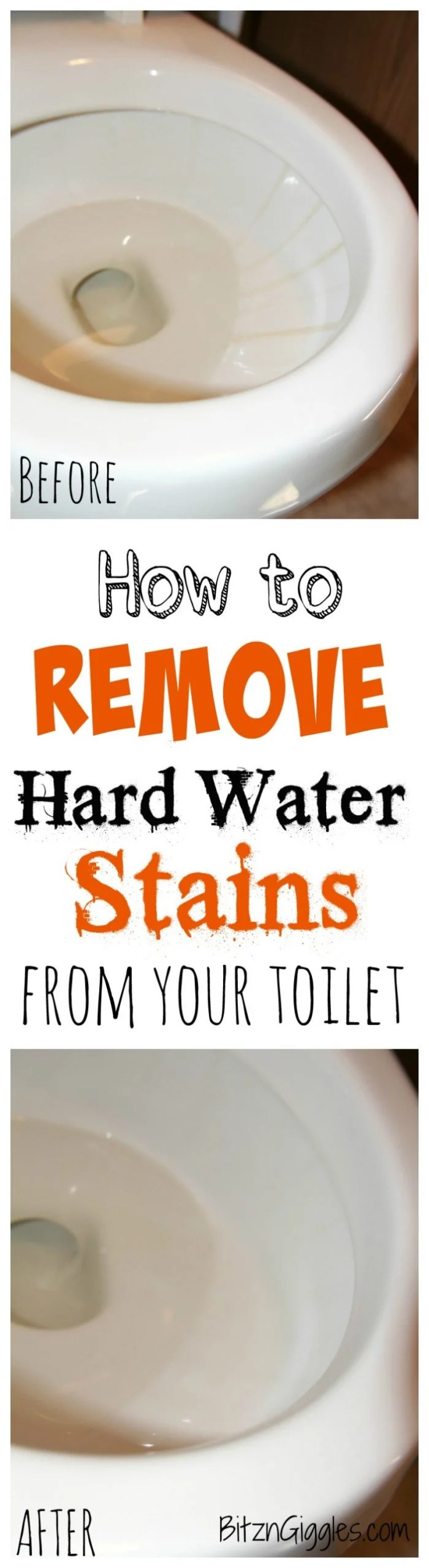 How to Clean Your Entire Home | Scrubbing Hard Water From Toilets Hack