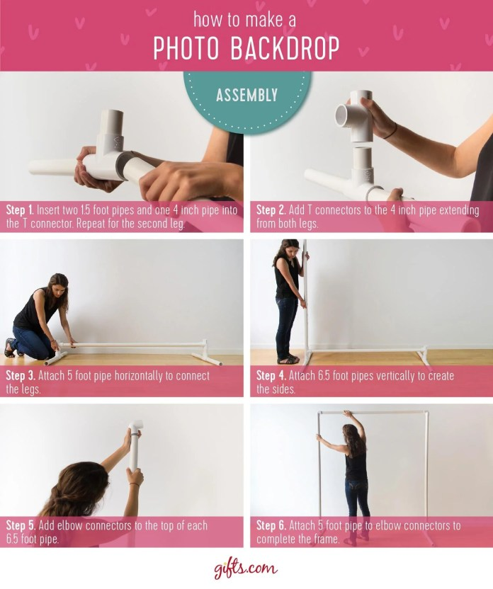 How to Frame a Photo Backdrop