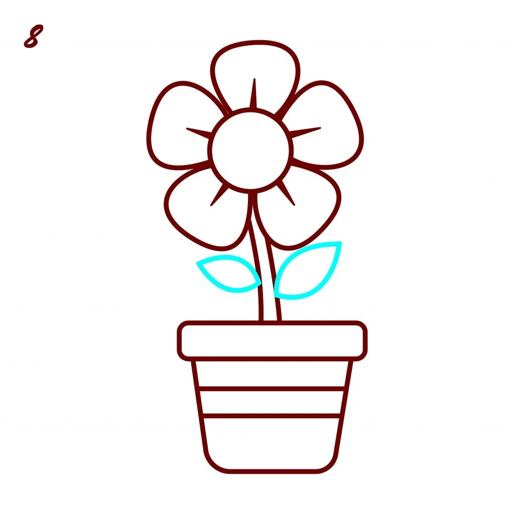 How To Draw Flowers An Easy Step By Step Tutorial With Video