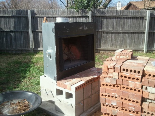 How To Build An Outdoor Fireplace - Landscaping & Lawn ... on Building Your Own Outdoor Fireplace id=81443