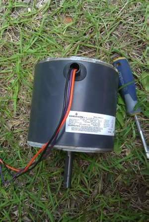 Condeser Fan Motor: 3 Wire To 4 Wire (pics Provided) Help!!  HVAC  DIY Chatroom Home