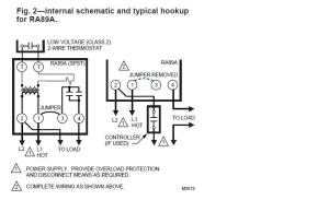 Wiring A Honeywell RA89A Relay  HVAC  DIY Chatroom Home