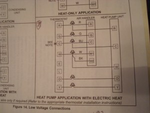 Which Diagram To Use On Lenox Thermostat Wiring Setup