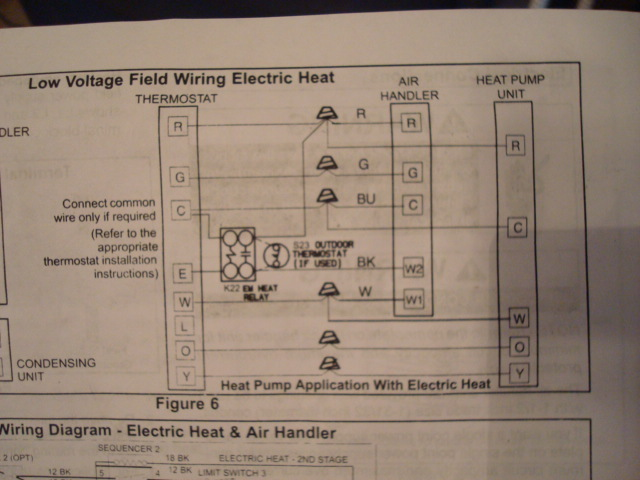 Which Diagram To Use On Lenox Thermostat Wiring Setup