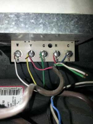 Thermostat Wiring OB & W Together?  HVAC  Page 2  DIY Chatroom Home Improvement Forum