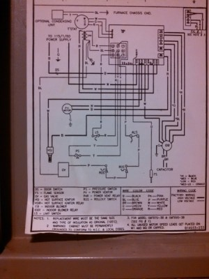Goodman Furnace Blower Wiring Diagram For A  Trusted
