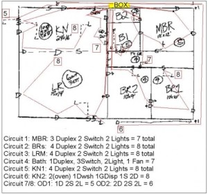 Correct Wiring Diagram For 1 Story House  Electrical