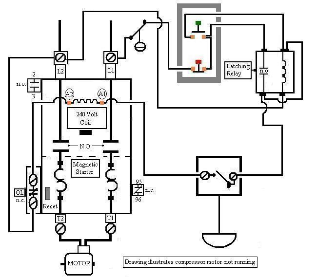 eaton air compressor starter wiring diagram  2006 lincoln