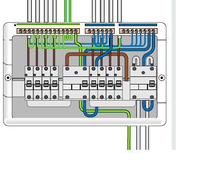 wiring diagram for rcd garage consumer unit  massey