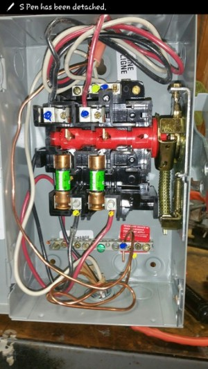 Wiring A 240v Disconnect Switch For Air Compressor  Electrical  DIY Chatroom Home Improvement