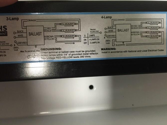 240 volt 4 lamp t5 fluorescent ballast wiring diagram  06