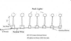 Wiring 120v Puck Lighting  Electrical  DIY Chatroom Home