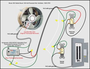 Attic Fan Bypass & Kill Switch  Electrical  DIY Chatroom Home Improvement Forum