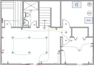 Basement Finish Wiring Diagram  Electrical  DIY Chatroom