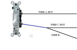Help With Single Pole Switch That Has Me Baffled  Electrical  DIY Chatroom Home Improvement Forum