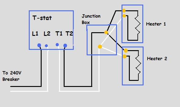 diagram simple electric heat wiring diagram full version hd